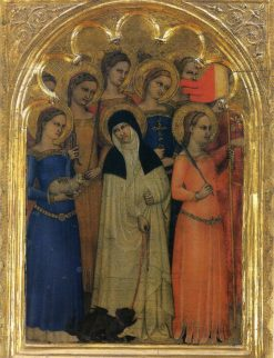 Ognissanti Polyptych -  lateral panel | Giovanni da Milano | Oil Painting