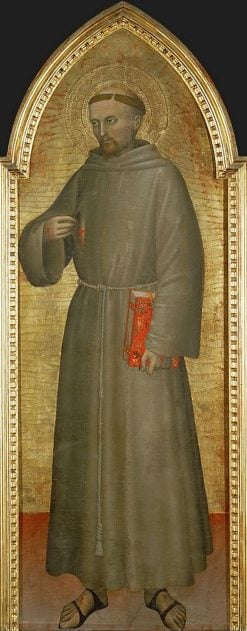 St Francis of Assisi | Giovanni da Milano | Oil Painting