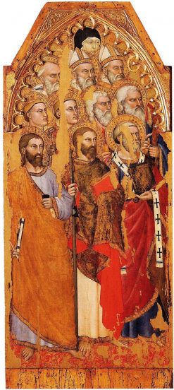 Eleven Saints | Giovanni da Milano | Oil Painting