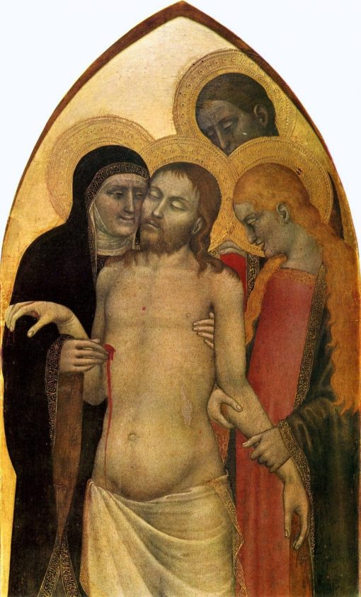 Pieta | Giovanni da Milano | Oil Painting