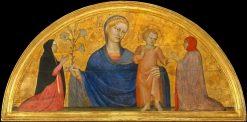 The Virgin and Child | Giovanni da Milano | Oil Painting