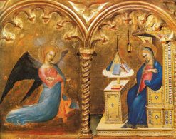 Annunciation | Giovanni da Milano | Oil Painting