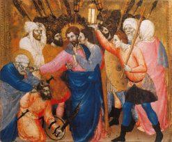 Capture of Jesus | Giovanni da Milano | Oil Painting