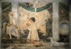 St Sigismund and Sigismondo Pandolfo Malatesta | Piero della Francesca | Oil Painting