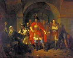 Patriarch Hermogenes Refuses to Sign Papers | Pavel Chistyakov | Oil Painting