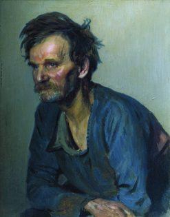 Gatekeeper Yefimov | Ilia Efimovich Repin | Oil Painting