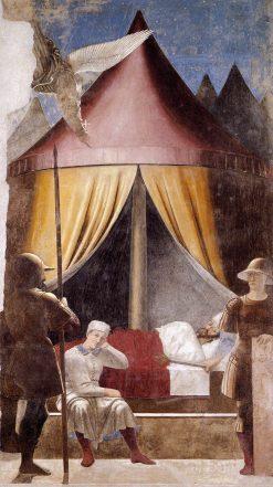 Vision of Constantine | Piero della Francesca | Oil Painting