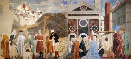 Finding and Recognition of the True Cross   Piero della Francesca   Oil Painting