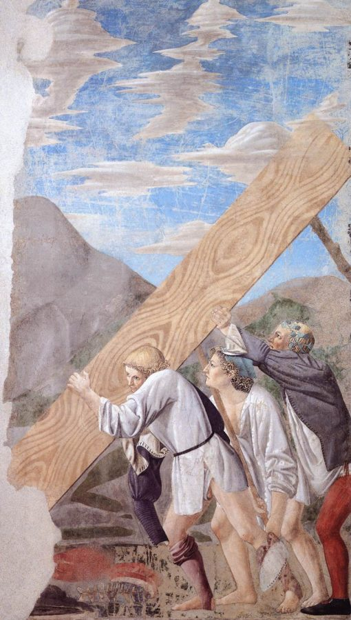 Burial of the Holy Wood   Piero della Francesca   Oil Painting