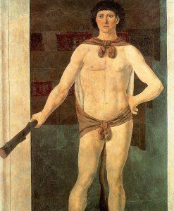 Hercules | Piero della Francesca | Oil Painting