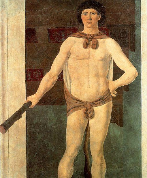 Hercules   Piero della Francesca   Oil Painting