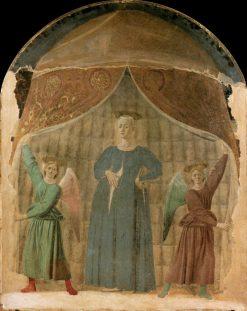 Madonna del Parto | Piero della Francesca | Oil Painting