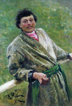 A Belarusian Man | Ilia Efimovich Repin | Oil Painting