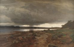 A Showery Landscape. Kalvø Vig