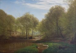 Thors Mill | Janus La Cour | Oil Painting