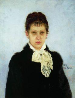 Vera Repina | Ilia Efimovich Repin | Oil Painting
