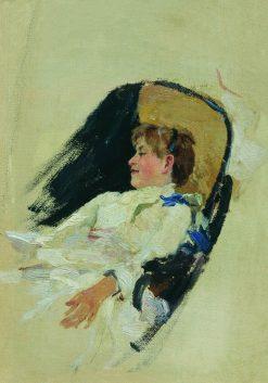 Vera Shevtsova | Ilia Efimovich Repin | Oil Painting