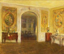 An 18th Century Salon | Walter Gay | Oil Painting
