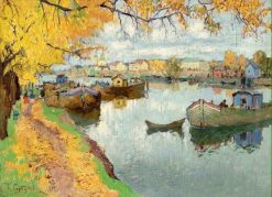 Autumn on the islands | Konstantin Gorbatov | Oil Painting