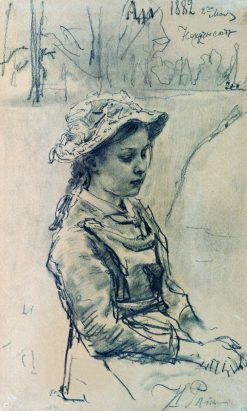 Ada | Ilia Efimovich Repin | Oil Painting