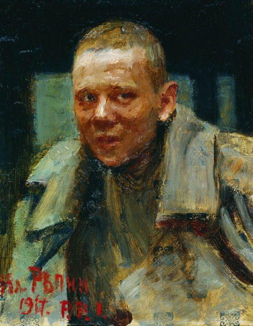 The Deserter   Ilia Efimovich Repin   Oil Painting