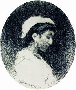 Woman | Ilia Efimovich Repin | Oil Painting
