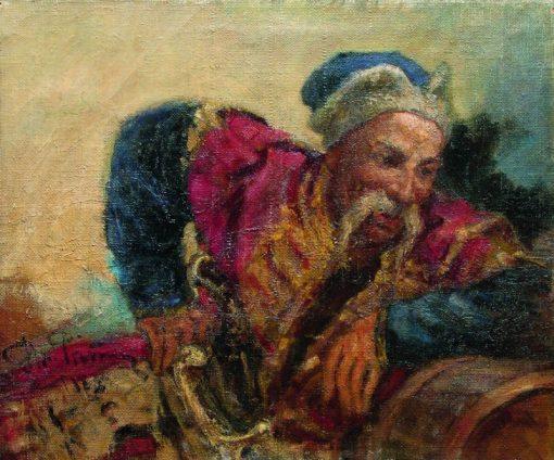 The Cossack   Ilia Efimovich Repin   Oil Painting