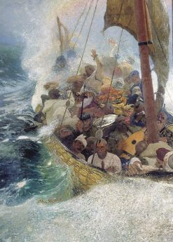 Cossacks on the Black Sea | Ilia Efimovich Repin | Oil Painting