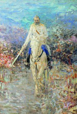 Equestrian Portrait | Ilia Efimovich Repin | Oil Painting