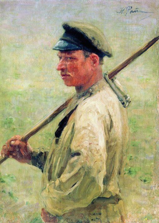 The Haymaker   Ilia Efimovich Repin   Oil Painting