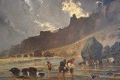 View of Cliffs | Paul Huet | Oil Painting