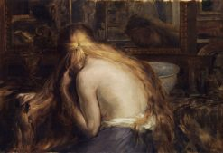 Hymne a la femme   Auguste Leveque   Oil Painting