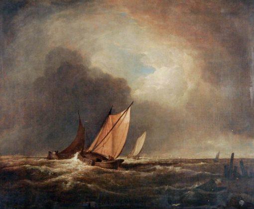 Dutch Boats off Yarmouth