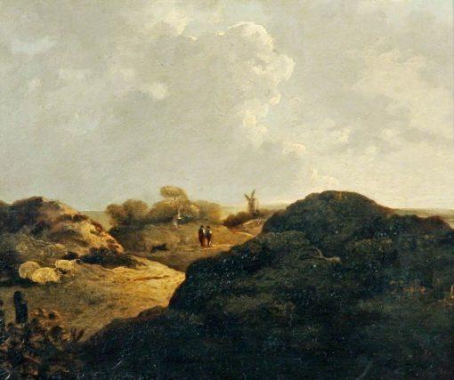 Heath Scene   John Crome   Oil Painting