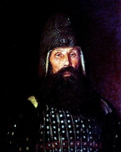 A Warrior of the XVII Century | Ilia Efimovich Repin | Oil Painting
