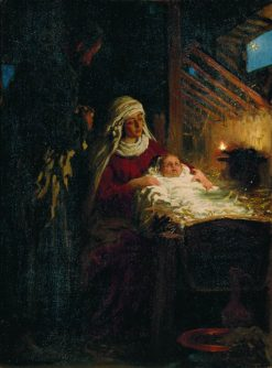 The Nativity | Ilia Efimovich Repin | Oil Painting