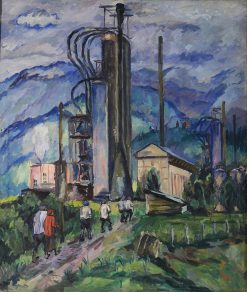 An Oil Refinery | Aristarkh Lentulov | Oil Painting
