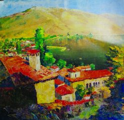 Landscape in Tuapse | Aristarkh Lentulov | Oil Painting