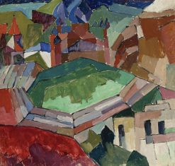 A Town in South Russia | Aristarkh Lentulov | Oil Painting
