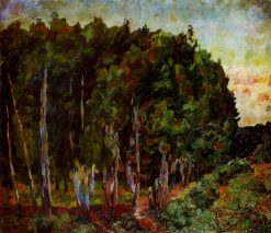 Landscape with Trees   Aristarkh Lentulov   Oil Painting