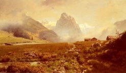 The Swiss Alps | Frederick Judd Waugh | Oil Painting