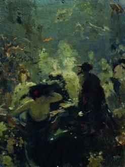 Sadko (study) | Ilia Efimovich Repin | Oil Painting