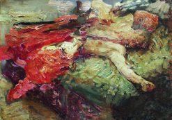 Sleeping Cossack | Ilia Efimovich Repin | Oil Painting