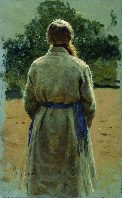 An Old Peasant   Ilia Efimovich Repin   Oil Painting