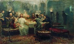 The Last Supper | Ilia Efimovich Repin | Oil Painting