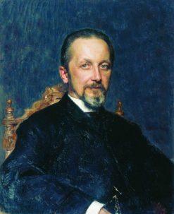 The Councillor | Ilia Efimovich Repin | Oil Painting