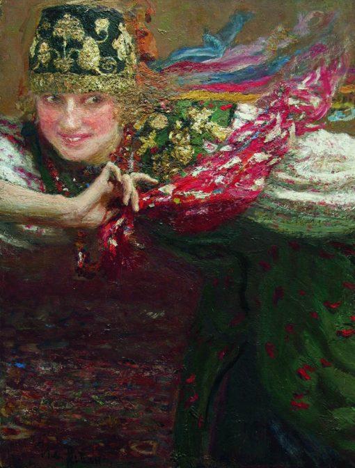 The Dancer | Ilia Efimovich Repin | Oil Painting