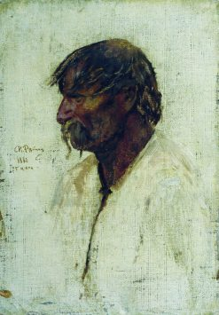 A Ukrainian Peasant | Ilia Efimovich Repin | Oil Painting