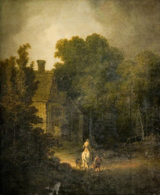 Landscape with Traveller | John Crome | Oil Painting