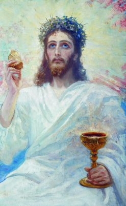 Christ with a Bowl | Ilia Efimovich Repin | Oil Painting